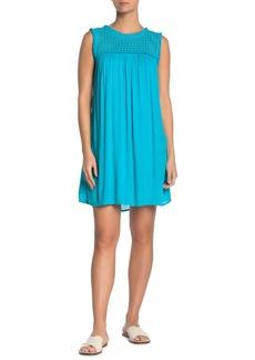 Tommy Bahama Eyelet Yoke Cover-Up Dress