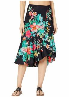 Tommy Bahama Fleur De Flora Flounce Skirt