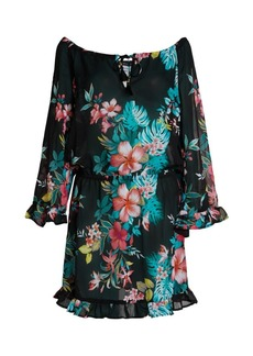 Tommy Bahama Fleur de Flora Ruffle Dress
