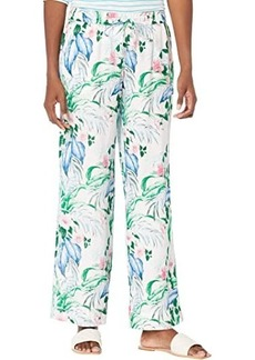 Tommy Bahama Flora Frond High-Rise Easy Pants