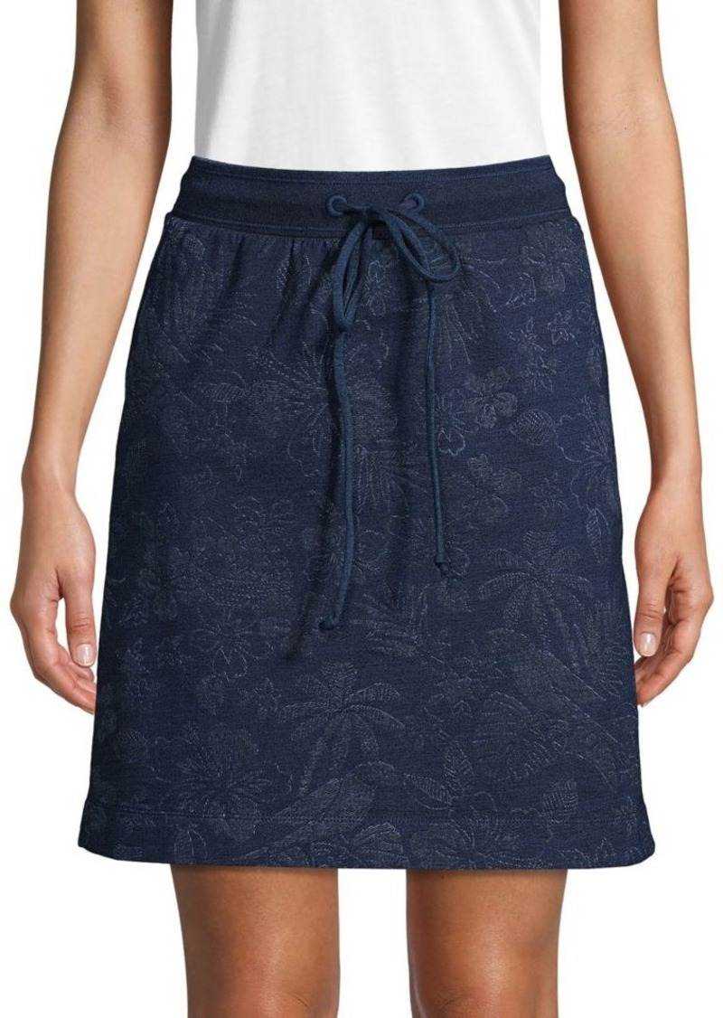Tommy Bahama Floral Stretch Mini Skirt