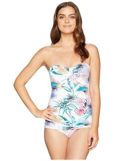 Tommy Bahama Fronds Ferdinan Bandeau One-Piece Swimsuit