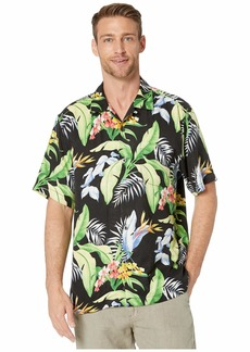 Tommy Bahama Garden of Hope and Courage Short Sleeve Camp Shirt