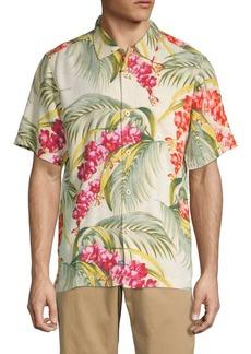 Tommy Bahama Hana Lei Fronds Short-Sleeve Print Shirt