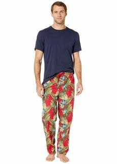 Tommy Bahama Hawaiian Short Sleeve Woven PJ Set