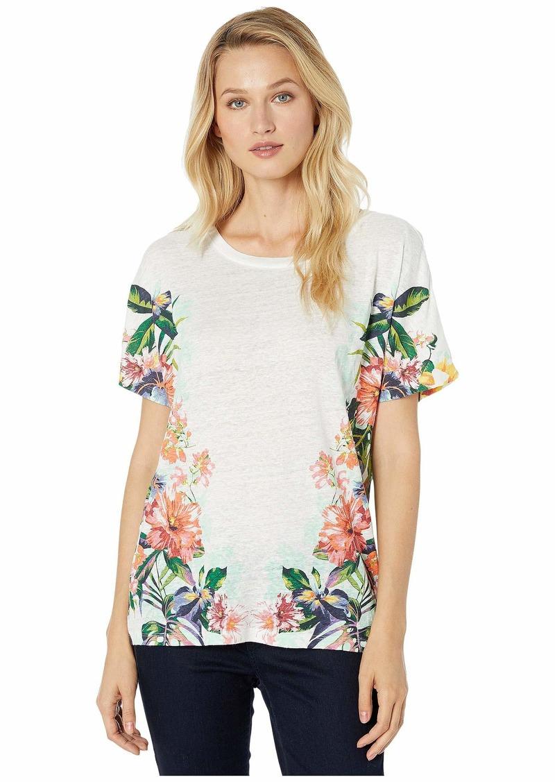 Tommy Bahama Hermosa Flora Dolman Short Sleeve Top