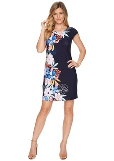 Tommy Bahama Hibis-Sketch Short Dress