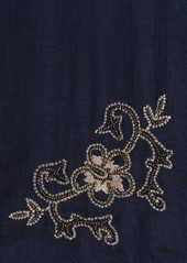 Tommy Bahama Hibiscus Embroidered Scarf