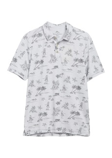 Tommy Bahama Hula Hut Tropical Print Polo