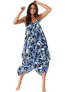 Tommy Bahama Indigo Garden Scarf Dress
