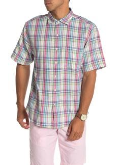 Tommy Bahama Island Etch Cotton Short Sleeve Shirt