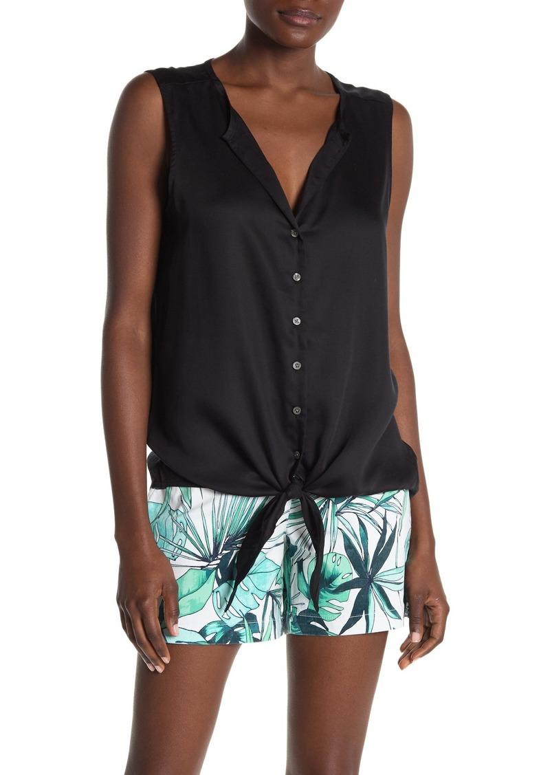 Tommy Bahama Kamari Front-Tie Tank Top