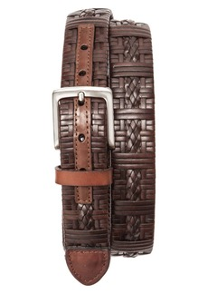 Tommy Bahama Laced Leather Belt