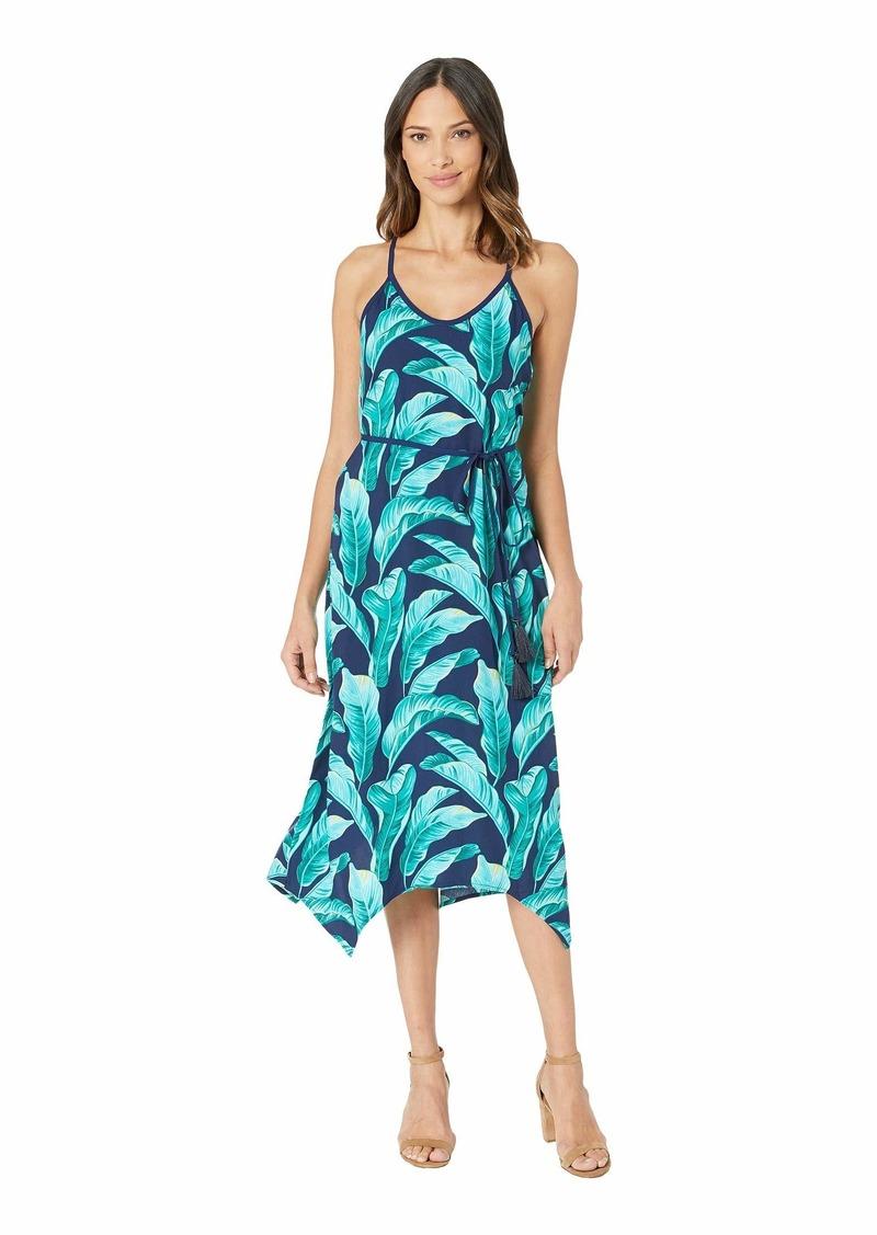 Tommy Bahama Lava Leaves Midi Slip Dress