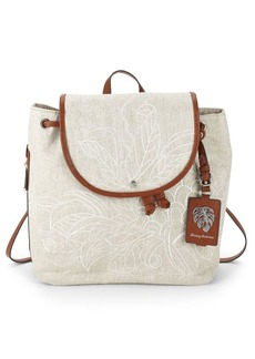 Tommy Bahama Leaf Drawstring Backpack