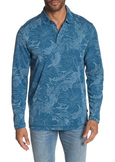 Tommy Bahama Leafing In The Sun Long Sleeve Polo