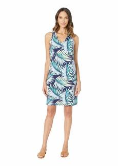 Tommy Bahama Leinani Leaves Sleeveless Dress