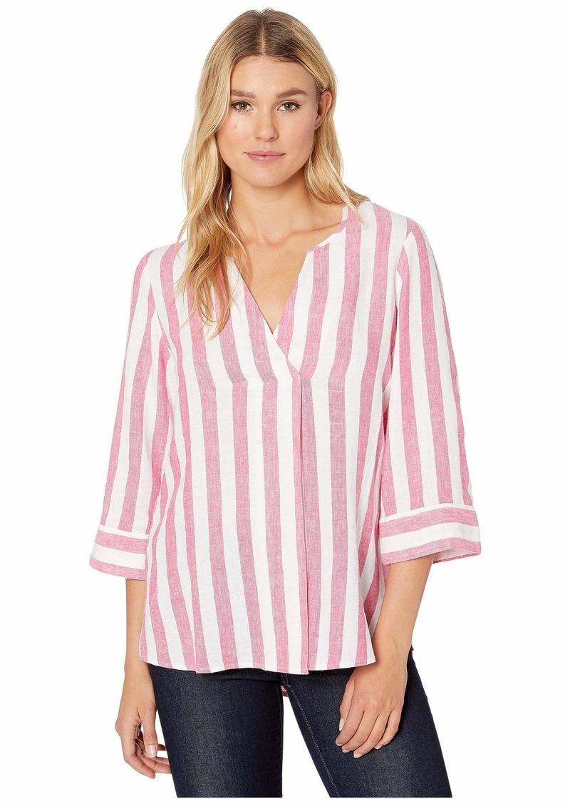 Tommy Bahama Light Stripes Tunic 3/4 Sleeve