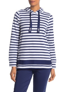 Tommy Bahama Lightweight Aruba Port Stripe Hoodie