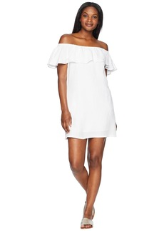 Tommy Bahama Linen Dye Off the Shoulder Dress Cover-Up