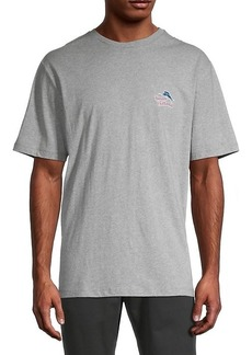 Tommy Bahama Logo Cotton Tee