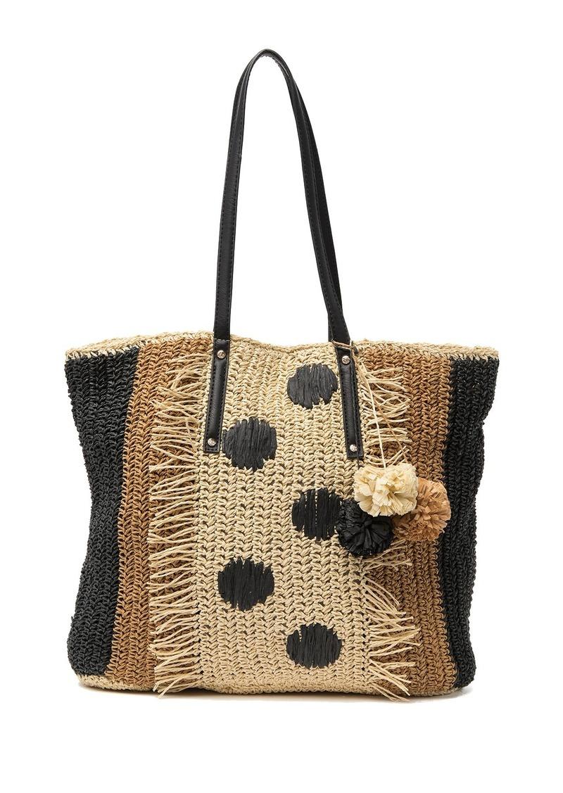 Tommy Bahama Mama Straw Tote Bag