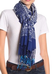 Tommy Bahama Mar-a-Sketch Oblong Scarf