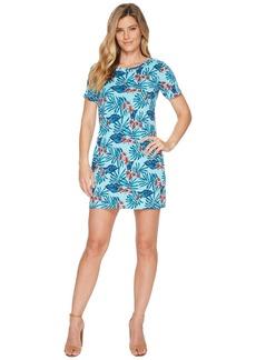 Tommy Bahama Maypop Short Sleeve Short Dress