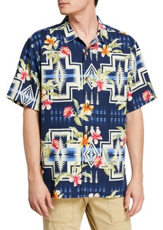 Tommy Bahama Men's Aloha Harding Silk Camp Shirt