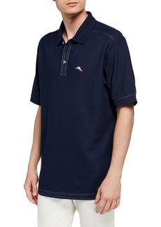 Tommy Bahama Men's Blue Note Custom Emfielder Polo Shirt