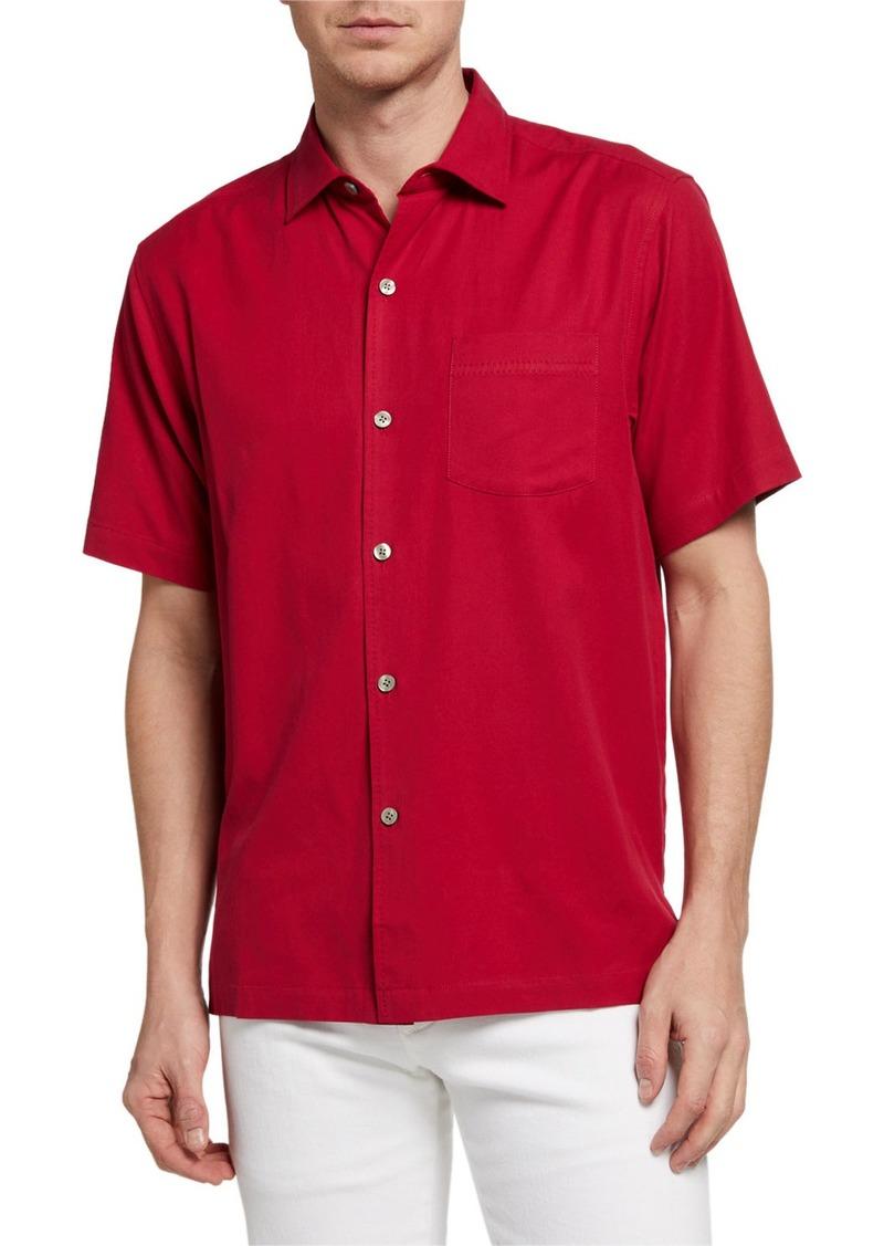Tommy Bahama Men's Catalina Stretch Twill Shirt