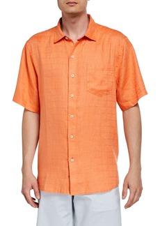 Tommy Bahama Men's Costa Sera Short-Sleeve Linen Sport Shirt
