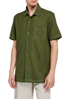 Tommy Bahama Men's Emfielder Button-Front Camp Shirt