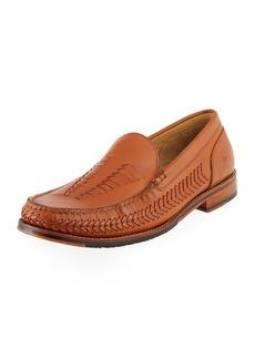 Tommy Bahama Men's Hasslington Braided Leather Slip-On