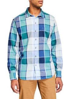 Tommy Bahama Men's Heredia Plaid Sport Shirt
