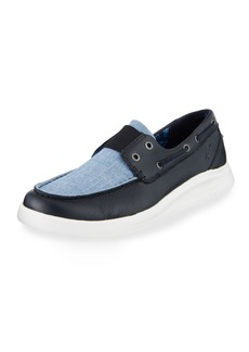 Tommy Bahama Men's Ocean Ridge Slip-On Boat Shoes