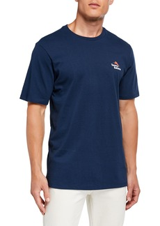 Tommy Bahama Men's Powerpint Presentation Graphic Cotton T-Shirt