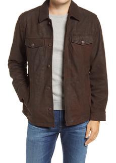 Men's Tommy Bahama Laredo Ridge Leather Shirt Jacket