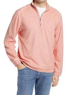 Men's Tommy Bahama Men's Reversible Costa Brancha Half Zip Pullover