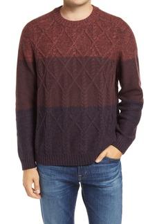 Men's Tommy Bahama Ocean Crewneck Colorblock Wool Blend Sweater
