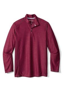 Men's Tommy Bahama Palm Coast Half Zip Pullover