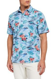 Tommy Bahama Men's Tropicool Tradewinds IslandZone® Polo Shirt