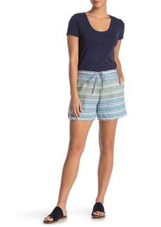 Tommy Bahama Micronesia Stripe 5-Inch Linen Shorts