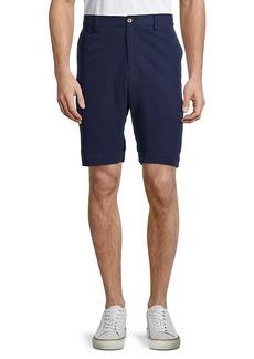 Tommy Bahama Monterey Silk-Linen Flat Shorts