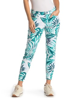 Tommy Bahama Mo'orea Monstera Leaf Printed Ankle Jeans