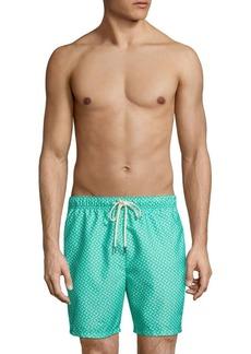 Tommy Bahama Naples Afish Solid Swim Trunks