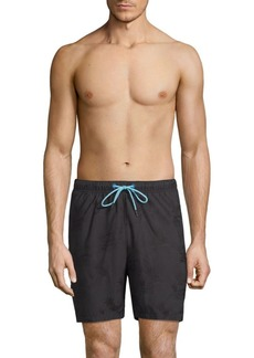 Tommy Bahama Naples Palm Night Jacquard Swim Trunks