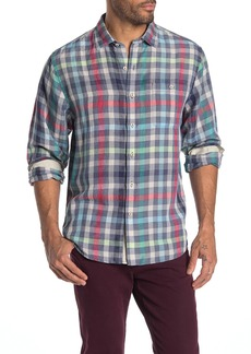 Tommy Bahama North Shore Check Long Sleeve Stretch Fit Shirt