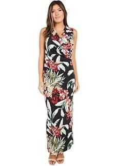 Tommy Bahama Oceanic Orchid Sleeveless Maxi Dress