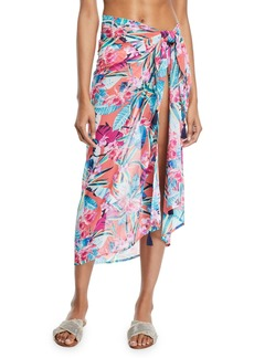 Tommy Bahama Orchid Grove Printed Coverup Pareo